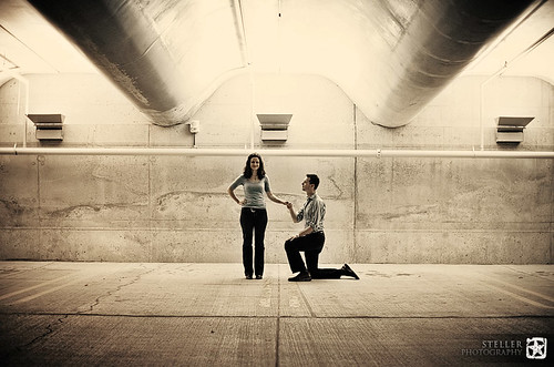 Dan+Kelly Engaged | Symmetry of Proposal