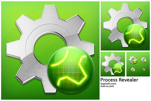 Process Revealer Icon Design