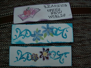 Bookmarks made as part of the RAK swap