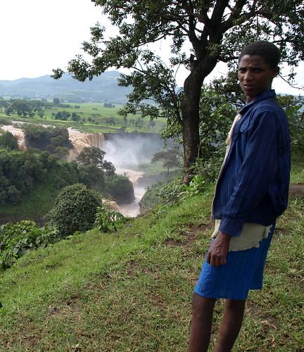 El Nilo Azul en las montañas de Tis Isat (Etiopía)