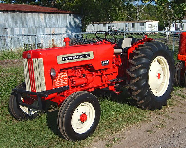 Restored Antique Tractors : International b diesel restored antique tractor
