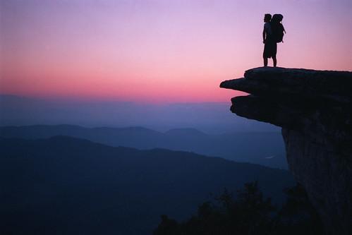 sunrise virginia tech trail va appalachian knob appalachiantrail virginiatech mcaffee mcafee mcafeeknob macafee