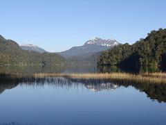 Espejo Chico lake in the morning