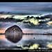Reflections at Sunset. Morro Bay, California