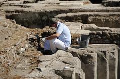 archaeology, soil, temple, geology, rock,