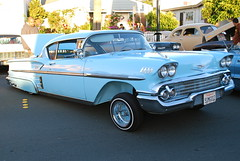 chevrolet, automobile, automotive exterior, vehicle, antique car, chevrolet bel air, sedan, vintage car, land vehicle, luxury vehicle, coupã©,