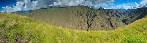 panorama canyon idaho backpacking scenicviews nezpercenationalforest hellscanyonnra