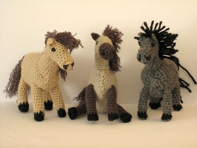 Amigurumi Year Of The Horse : Cute amigurumi horses Flickr - Photo Sharing!
