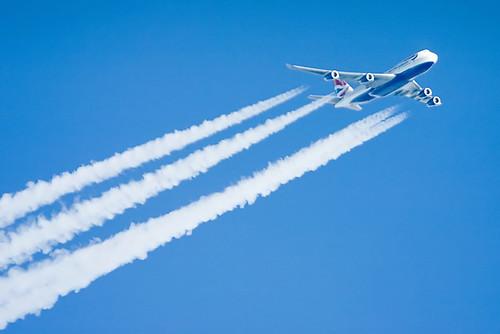 round the world flights - boeing 747