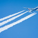 British Airways Boeing 747 contrail