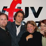 Amos Lee at WFUV with Rita Houston and Claudia Marshall
