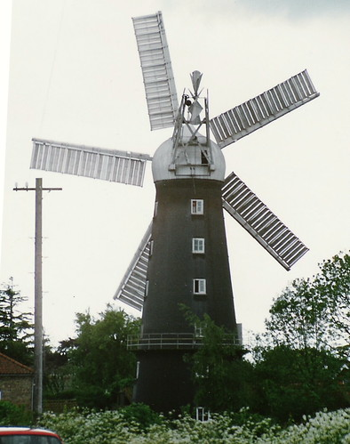 Alford 5 sail windmill