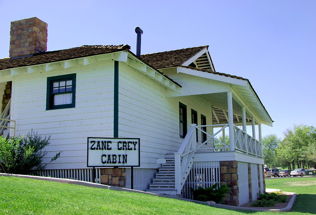 Zane Grey Cabin Payson Arizona Nw View Flickr