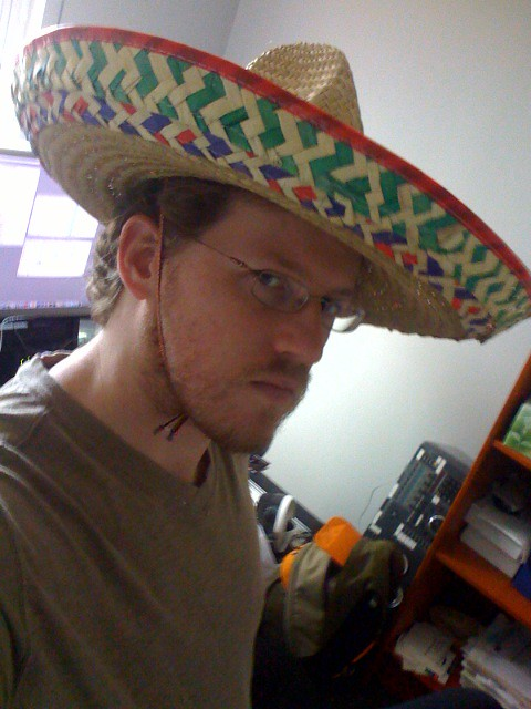 It's a little tougher to fix your computer while wearing a sombrero, but the benefits are well worth it.