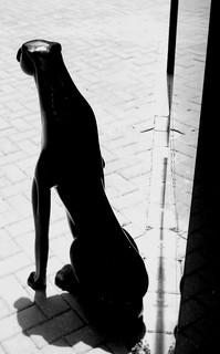 Pantera Negra Estatua