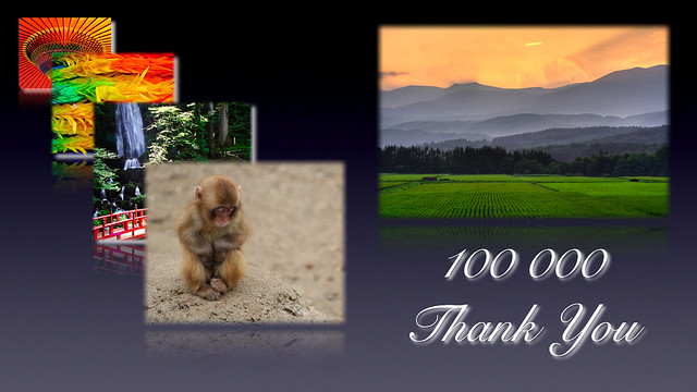 100000 Photostream Views Baby!!