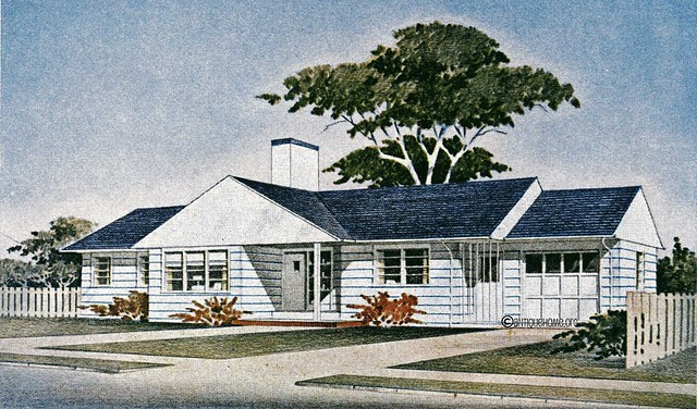 Photo for 1950s ranch style house plans