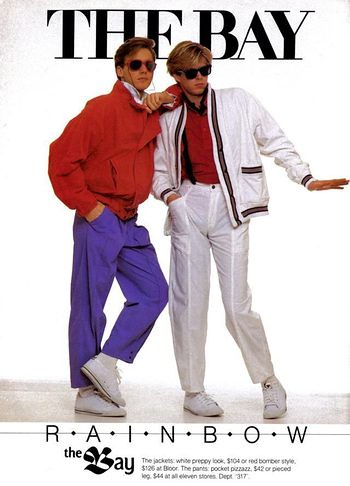 1980s the bay mens fashion ad  a photo on flickriver