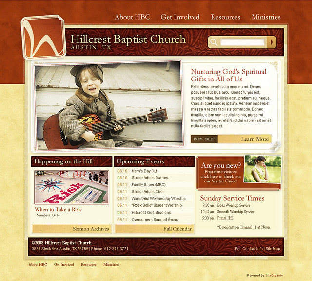 Hillcrest Baptist Church - Home Page