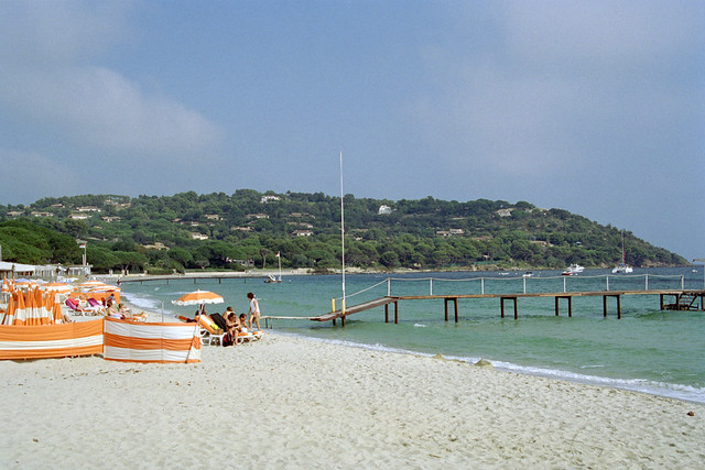 Plage de Tahiti, St Tropez | Flickr - Photo Sharing!
