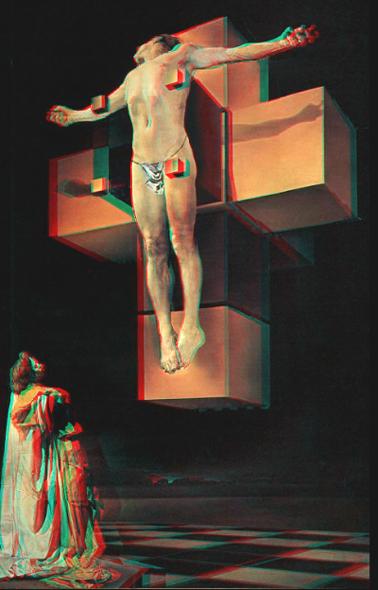 Christ-Crucifixion or Corpus Hypercubicus by Dali