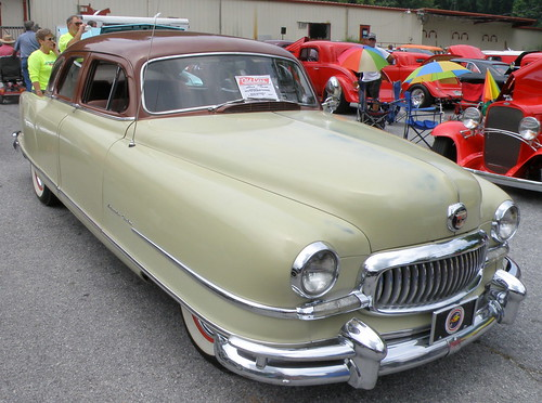 1951 Nash Ambassador- The make-out automobile of choice for teenagers