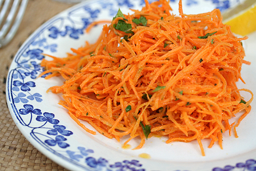 french grated carrot salad. Black Bedroom Furniture Sets. Home Design Ideas