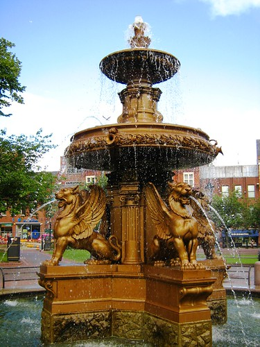 The Leicester Town Hall Square Fountain