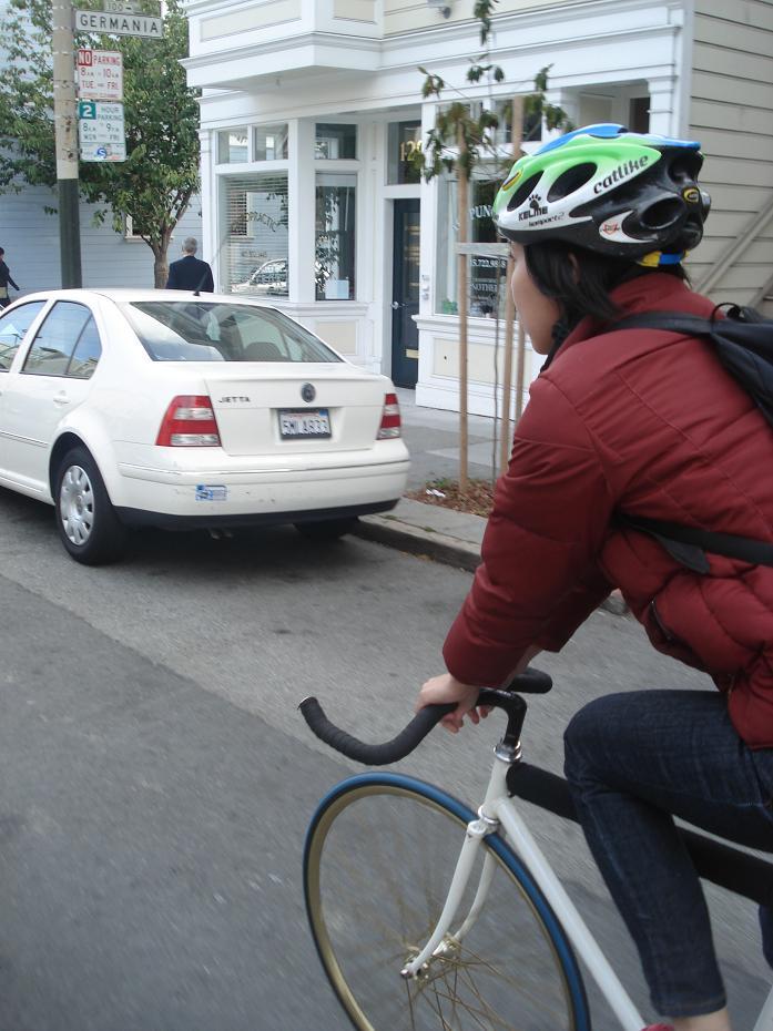Riding Bikes.