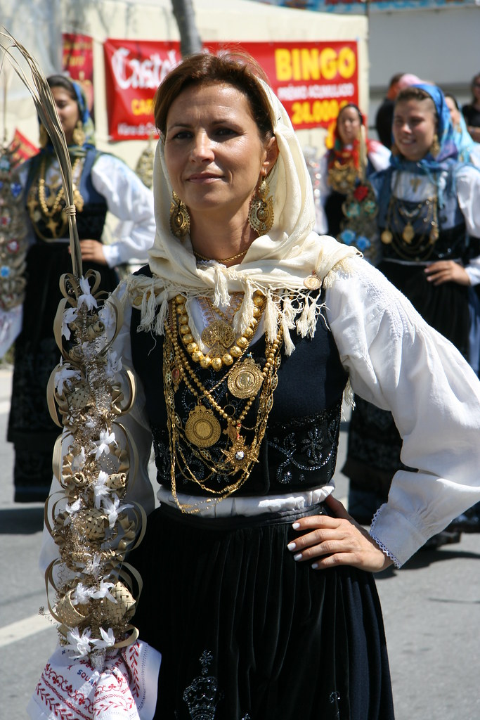 Traditional Portugese Wedding Outfit