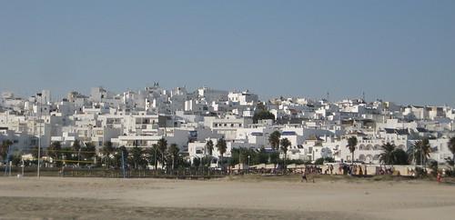Vista desde la playa de Conil de la Frontera
