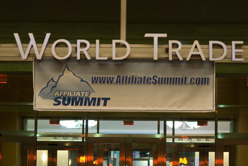 Affiliate Summit at World Trade Center in Boston