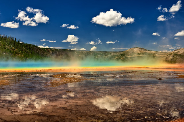 Reflecting on Grand Prismatic