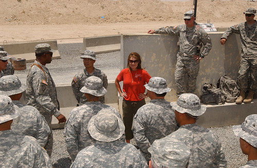 Sarah Palin in Kuwait 5
