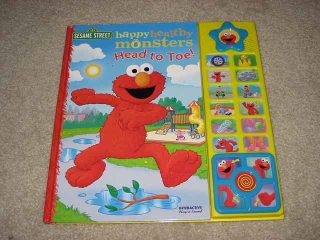 Sesame Street Elmo Sing Along Book $5   Flickr - Photo ...
