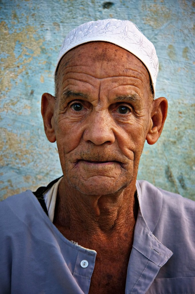 Portrait Of A Bahariyya Oasis Man