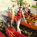 Rowing boats in Dubrovnik by Croatia Sailing