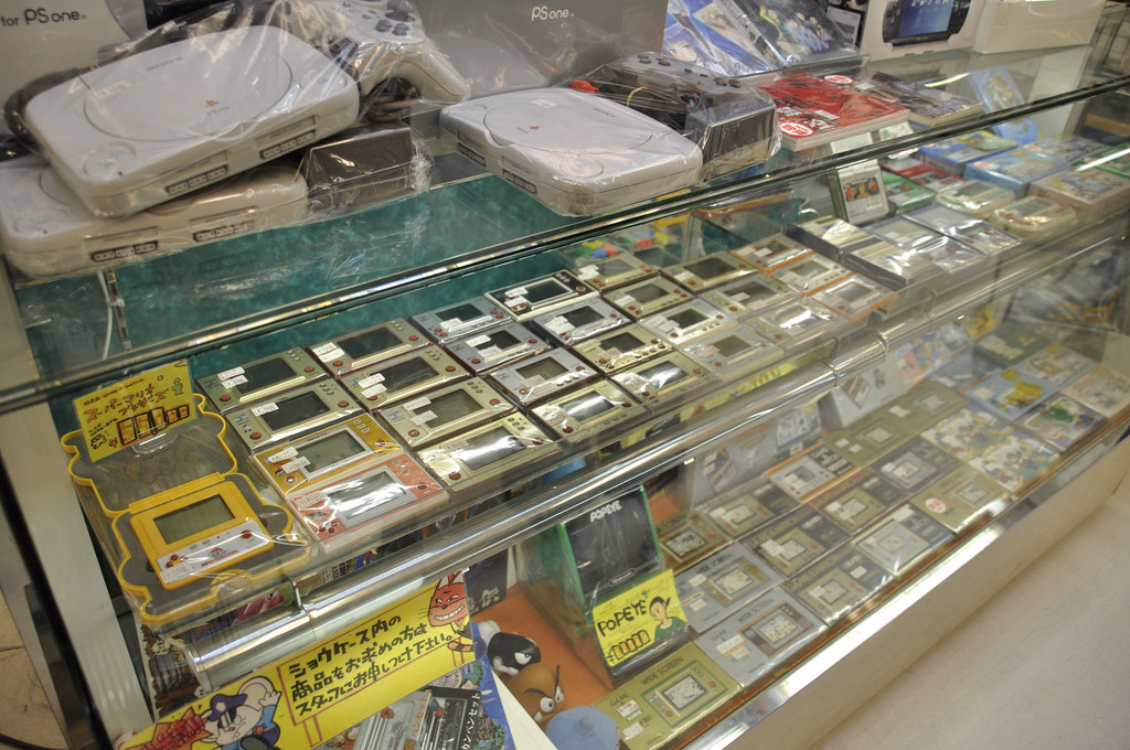 Game-and-Watches at Akihabara Super Potato