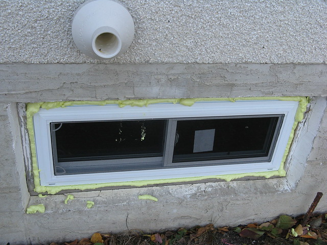 Replacement windows basement replacement window installation for Basement window replacement