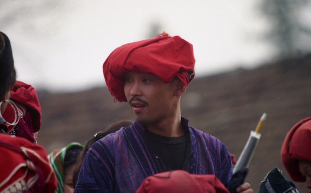 a Dao man in Sapa, by Tony Knox