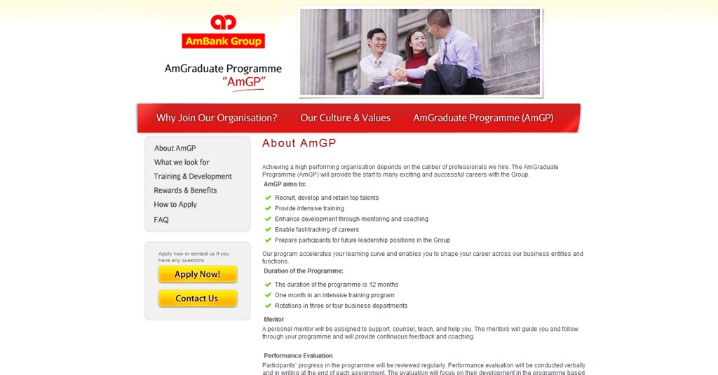 AmBank Group - AmGraduate Programme