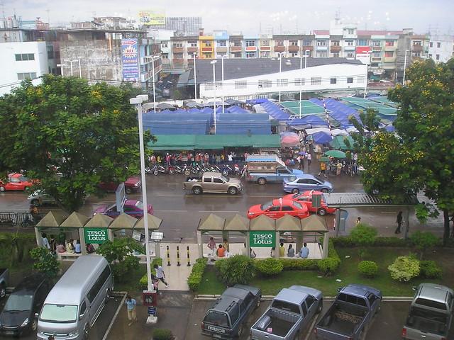 View From Tesco Lotus Bangkok Flickr Photo Sharing