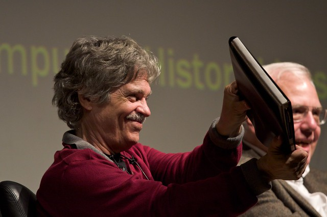 Alan Kay and the prototype of the Dynabook
