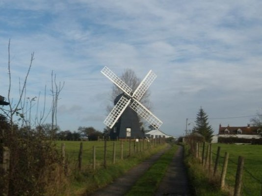 Lacey Green Windmill Oldest smock mill in the country (though not on its original site). Princes Risborough to Great Missenden