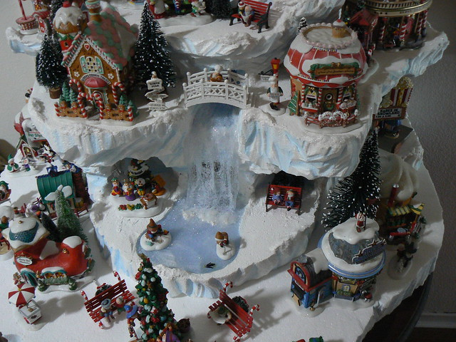 Home Design Image Ideas Christmas Village Set Up Ideas