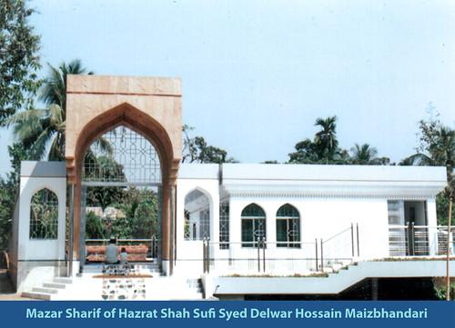 Mazar Sharif of Hazrat Syed Delwar Hossain Maizbhandari