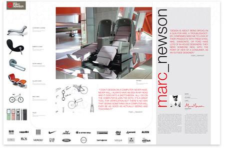 Marc Newson Design Info Poster