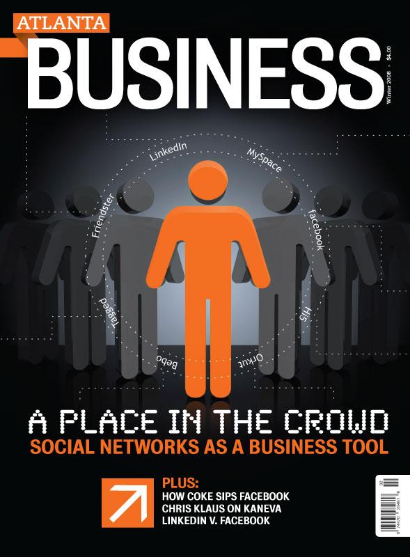 Atlanta Business Magazine Cover Design