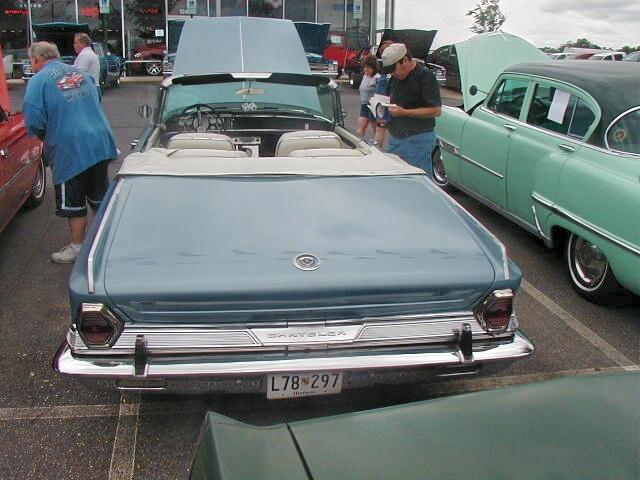 1964 Chrysler 300k Convertible 1954 Desoto Firedome