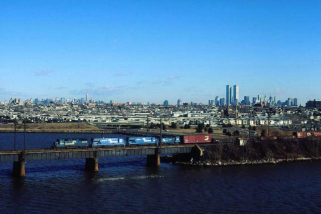 Jersey City NJ Conrail Train